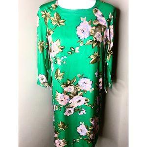 Muse dress, Sz 6, Floral Green